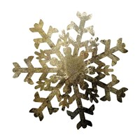 Glimmer Snowflakes 2 Framed Print
