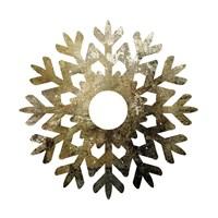 Glimmer Snowflakes 3 Framed Print
