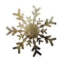 Glimmer Snowflakes 4 Framed Print