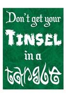 Tinsel Tangle Fine Art Print