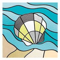 Smoke Seashell Glass Fine Art Print