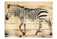 Zebra Wood Fine Art Print