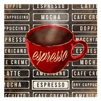 Espresso Two Framed Print