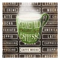 Caffe Mocha Two Fine Art Print