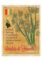 Insalata di Finocchi Fine Art Print