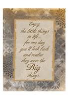 The Little Things Fine Art Print