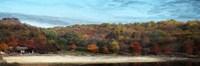 Fall On Canvas Fine Art Print