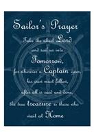 Sailor's Prayer 1 Framed Print