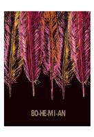 Bohemian Meaning Framed Print