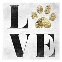 Love My Pet Fine Art Print