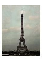 Eiffel Sepia Fine Art Print