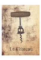 Le Chateau Wine 1 Fine Art Print