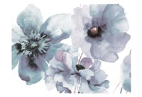 Flowering Blue Hues Fine Art Print