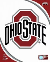 Ohio State University Buckeyes Team Logo Fine Art Print