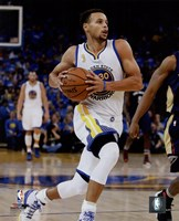 Stephen Curry 2015-16 Action Fine Art Print