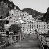 Amalfi Pier I Fine Art Print