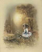Little Girl A Fine Art Print