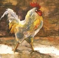 Rooster Barn Fine Art Print