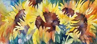 Row Of Sun Fine Art Print