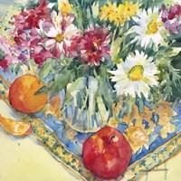 Floral Tableau Fine Art Print