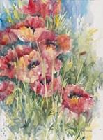 Blooming Blaze Fine Art Print