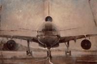 Tonal Plane Fine Art Print