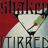 Shaken Stirred Fine Art Print