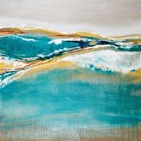 Aqua Quartz Fine Art Print