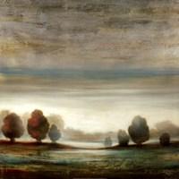 Warm Horizon Fine Art Print