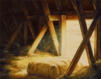 Hay Loft Fine Art Print