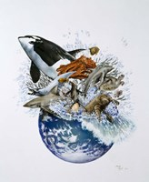 Marine World Fine Art Print