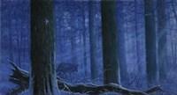 Blue Wolf Fine Art Print