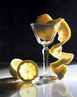 Twisted Lemon Fine Art Print