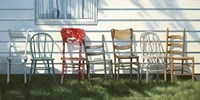 Row Of Chairs Fine Art Print