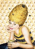Bee-Hive Hairdo Fine Art Print