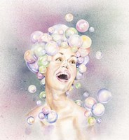 Bubble Head Fine Art Print