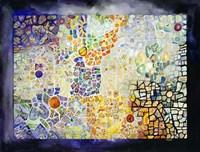 Costa Rican Mosaic Fine Art Print