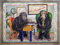 Monkey Business Fine Art Print