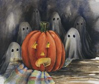 Oooooohh, Ghostly Fine Art Print