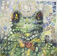 Froggy Framed Print