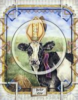 Holey Cow Fine Art Print