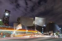 Bus Streak Disney Concert Hall Fine Art Print