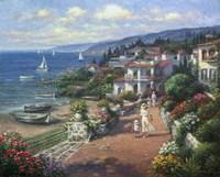 Coastal Tranquility Fine Art Print