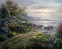 Seaside Cottage Fine Art Print