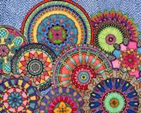 Mandala Parade Fine Art Print