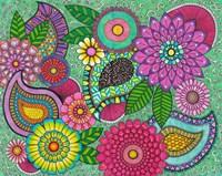 Paisley Garden Fine Art Print