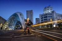 Eindhoven Nighttime Cityscape Fine Art Print