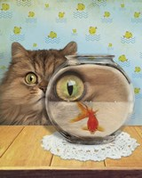 Cat Series #3 Fine Art Print