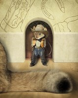 New Mouse In Town Fine Art Print
