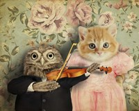The Owl And The Pussycat Fine Art Print